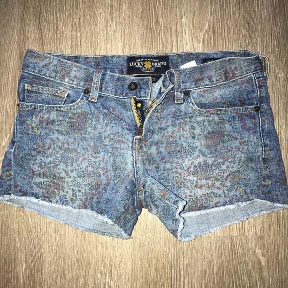 Lucky Brand Pants - Lucky Brand Denim Shorts